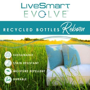 LiveSmart Evolve: Recycled Bottles Reborn