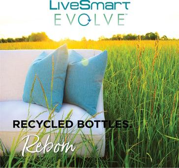 LiveSmart Evolve Made from Recycled Bottles