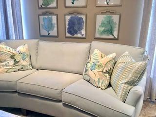 LiveSmart Peyton fabric on sofa