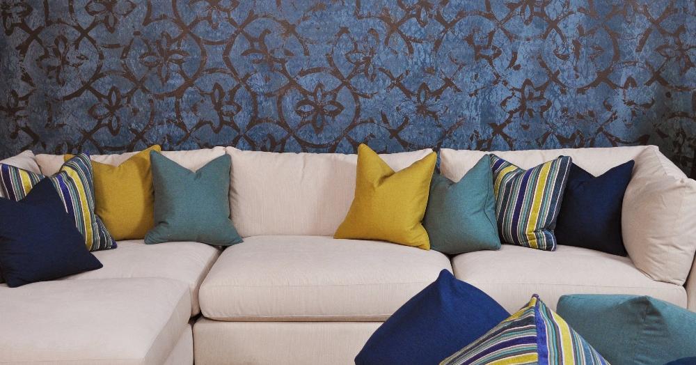 LiveSmart style, white performance fabric sofa