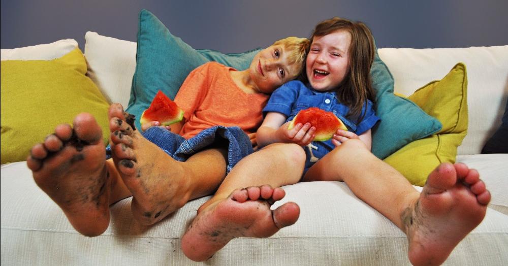 Performance Fabric Kids, livesmart sofa for kids