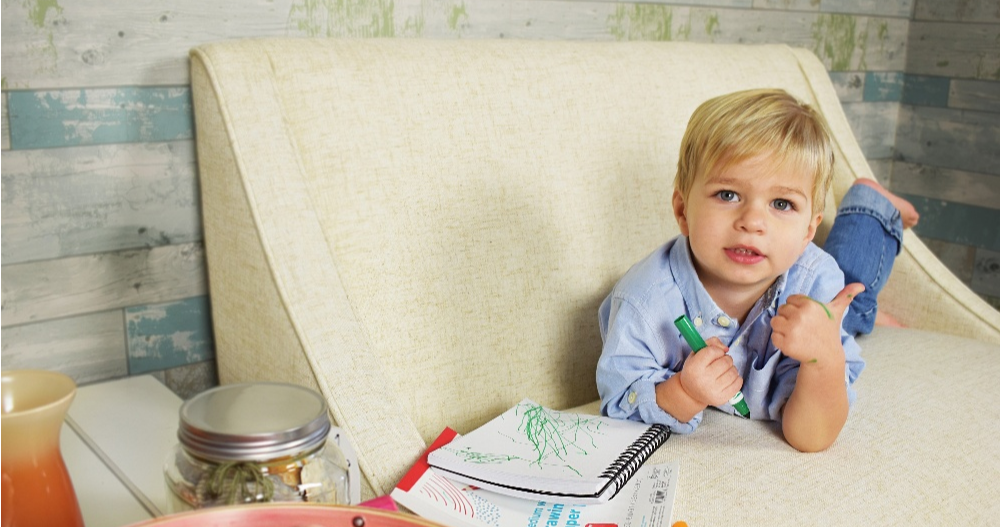 Marker on Fabric, furniture and fabric for kids